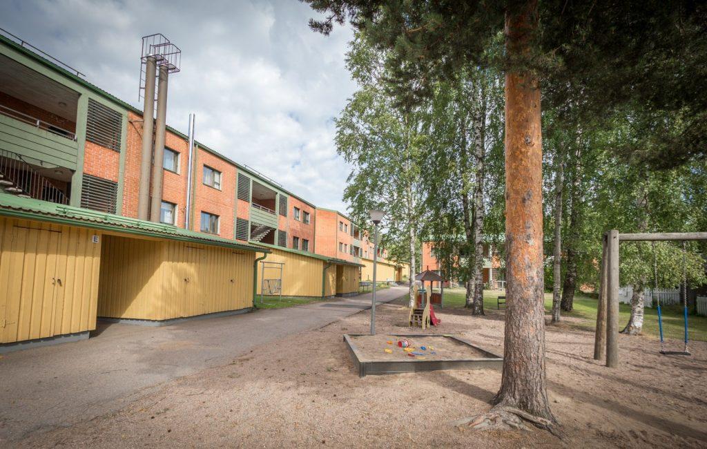 Kotkan Asunnot Aatteenkatu 6 Kotka leikkialue