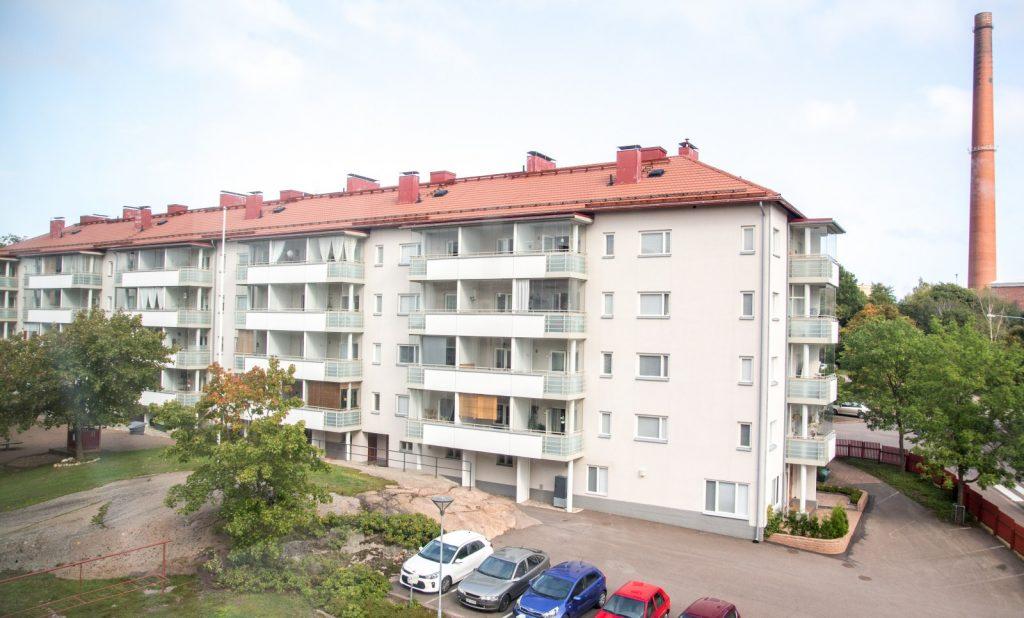 Kotkan Asunnot Itäkatu 2-3 julkisivu