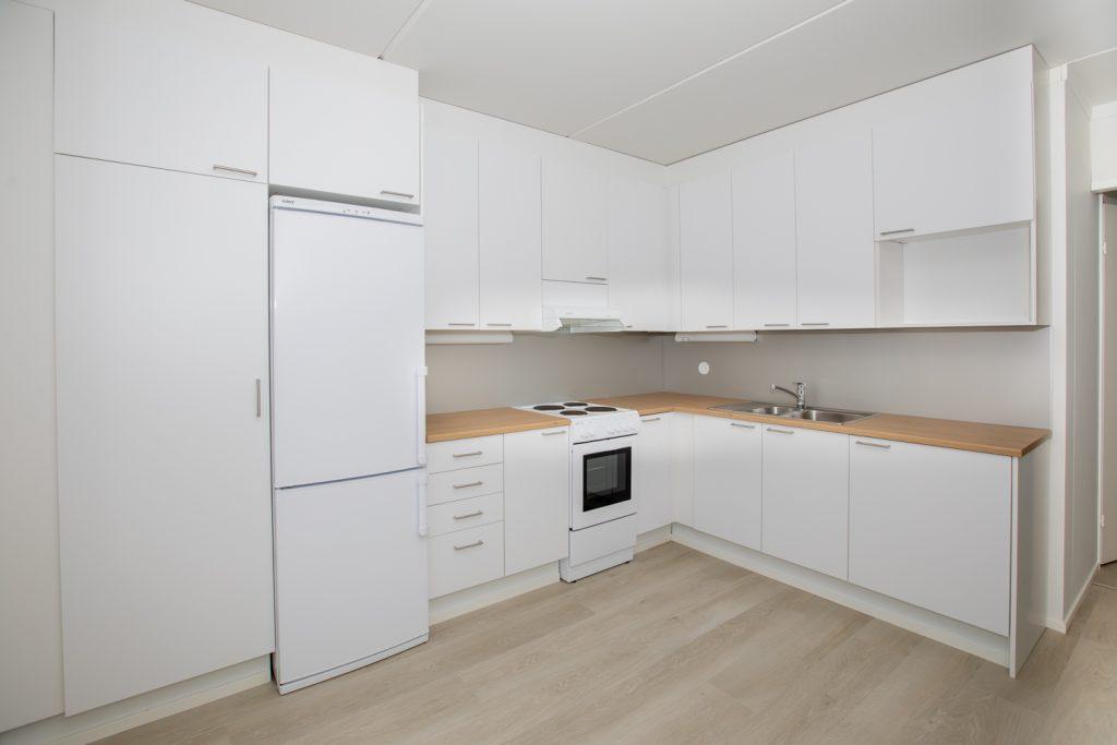 Vuokra-asunto Kotka Ututie keittio